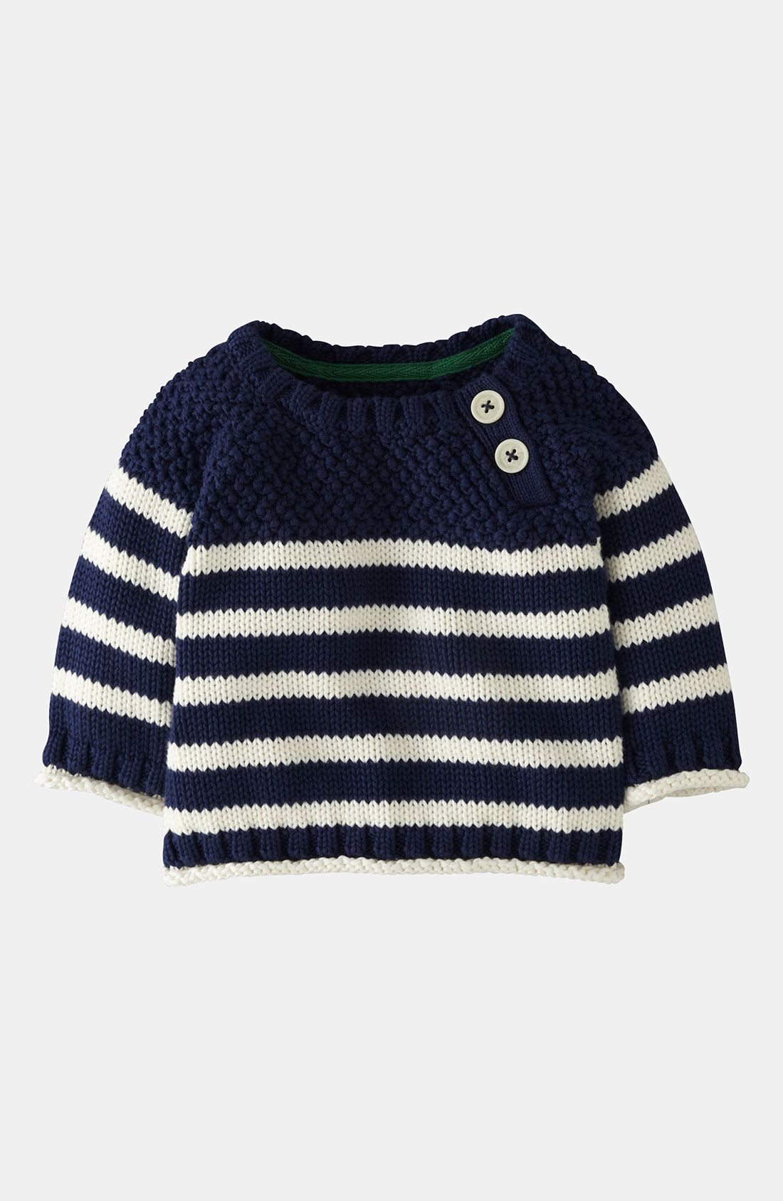 e0a0eef08c2 Free shipping and returns on Mini Boden Knit Sweater (Baby) at ...