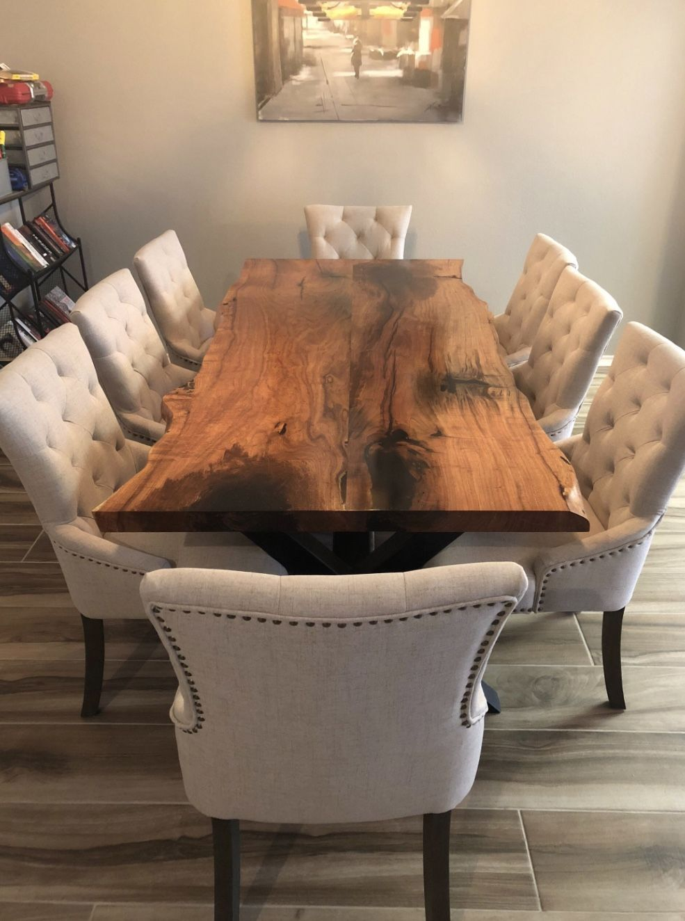 Fine Wood Table Design Gallery In 2020 Live Edge Table Dining