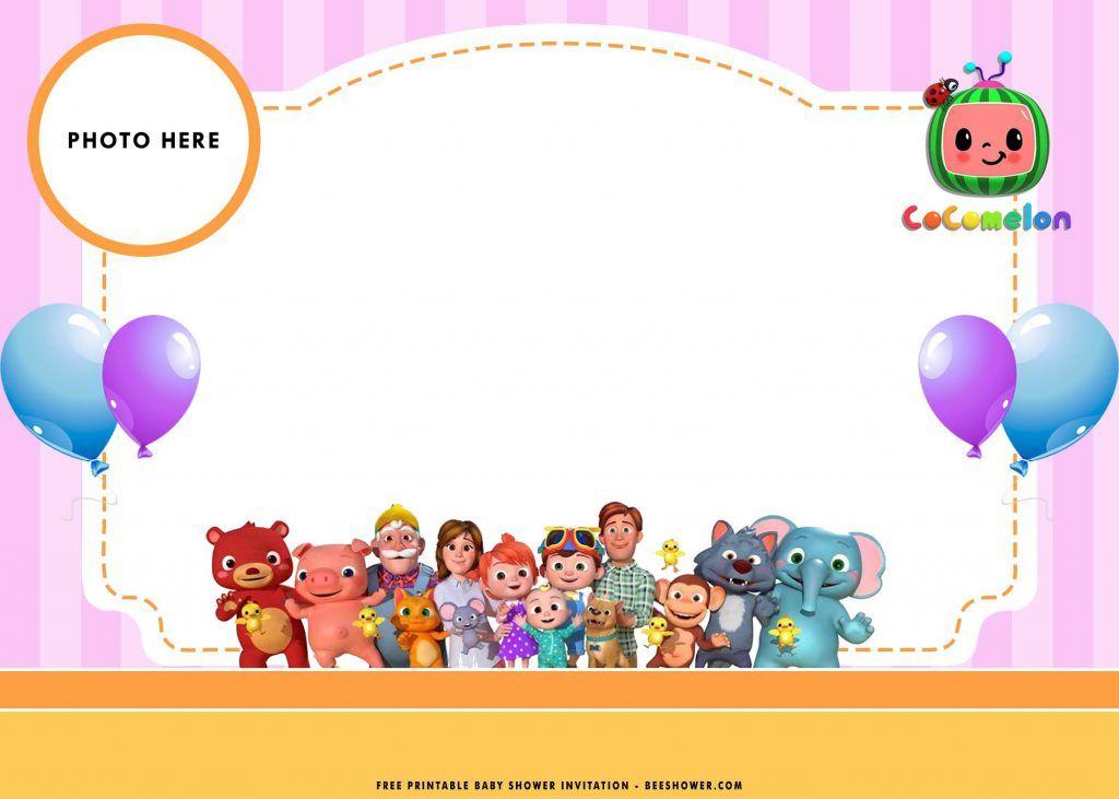 free printable baby shower invitations