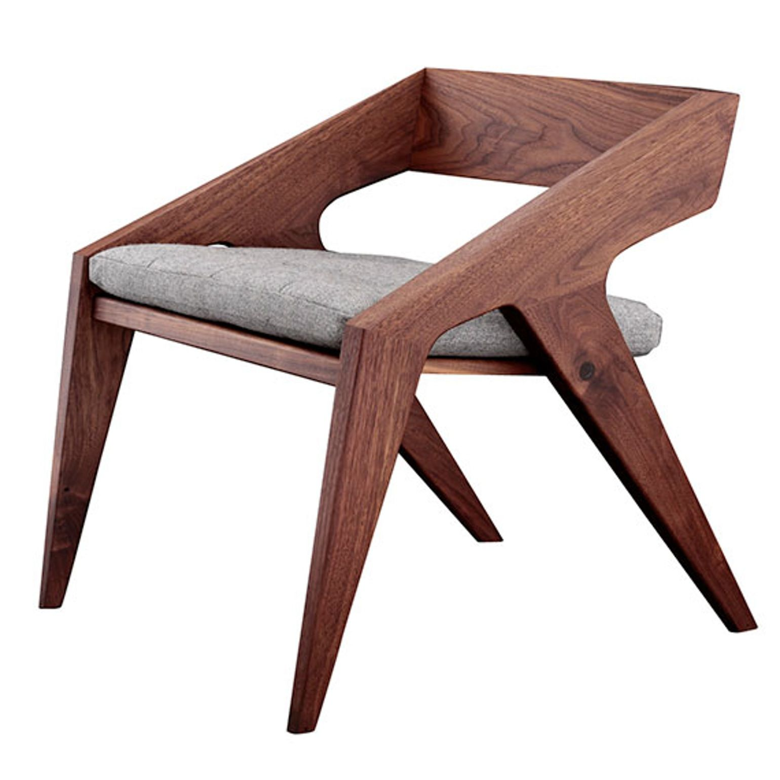 Hank From Jory Brigham Design Contemporary Wood Armchairs Club