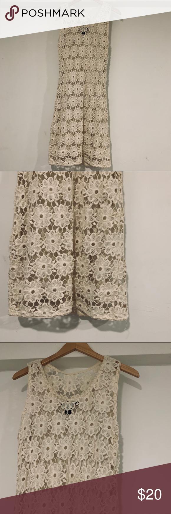 INC petite floral off white dress INC petite off white dress size D1 INC International Concepts Dresses