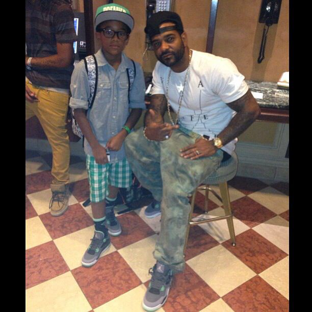 Jim Jones And Son Pudy Celebrity Dads Black Celebrity Gossip Black Celebrity News