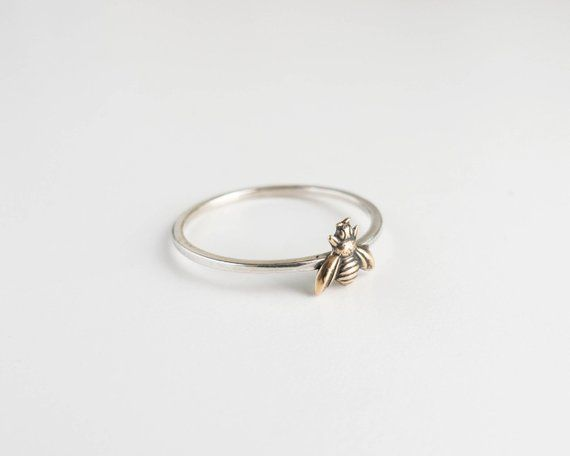 Photo of Bee Ring – Tiny Bee Jewelry – Bee Charm – Honeybee Ring – Queen Bee Ring – Dainty Ring – Bug Jewelry – Bohemian Ring – Bee Charm – Boho