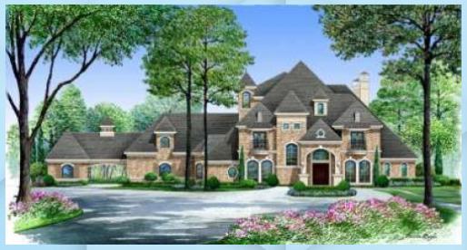 Photo of Piano casa 5445-00136 – Piano di lusso: 6.291 piedi quadrati, – Giardino fai da te #Fe …