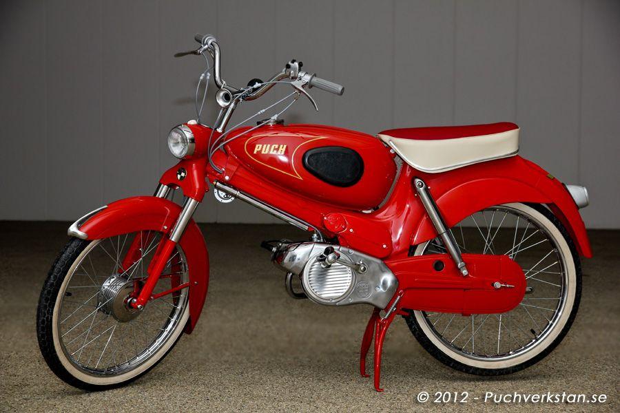 Puch Sport Vs 50 S 1957 Pergola Drealm