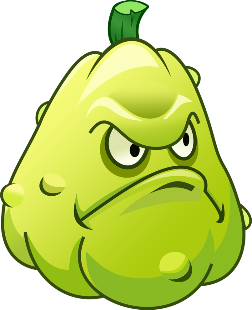 plants vs zombies 2 squash r by illustation16 on deviantart