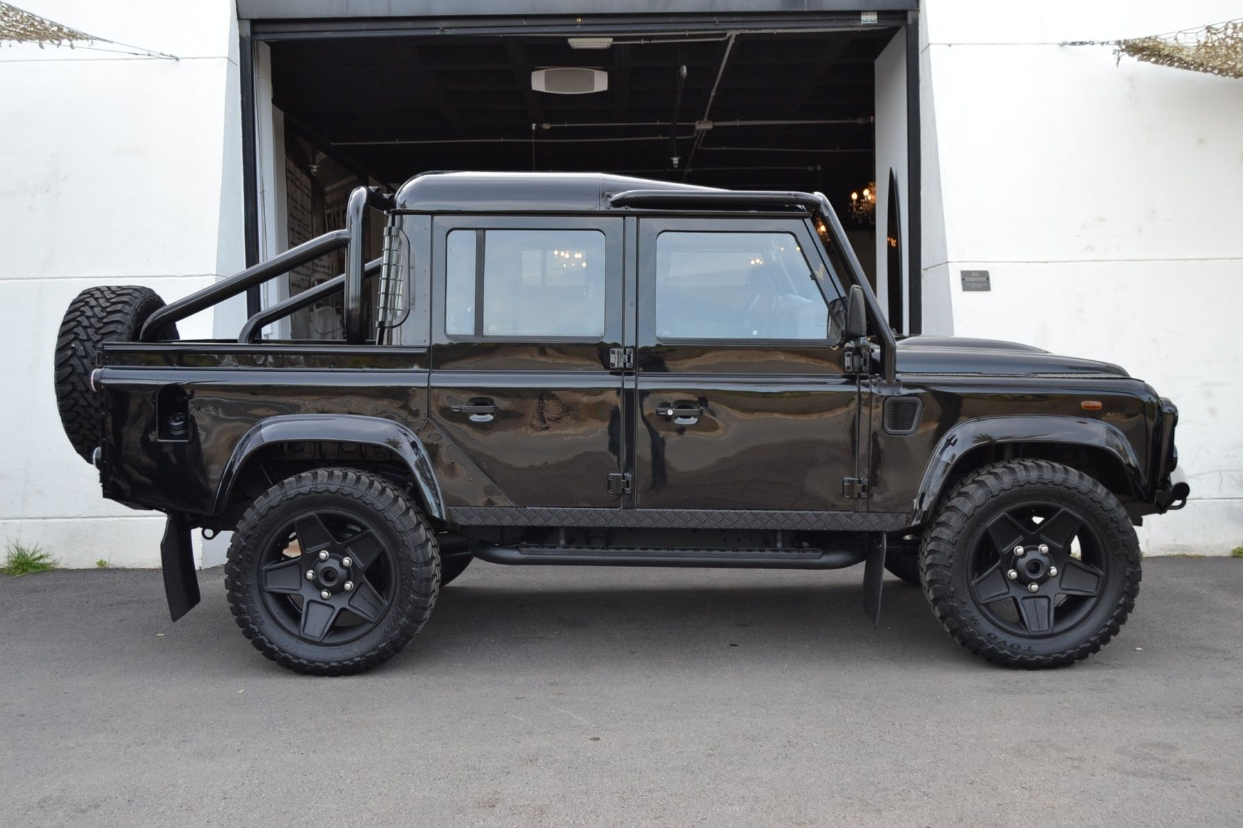 2010 Land Rover Defender 110 Double Cab Pick Up All 90 Blacks Version Classic Driver Market
