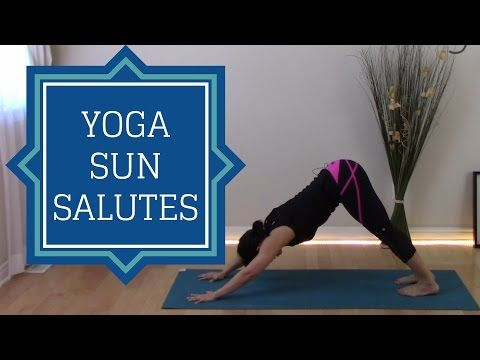 15 minutes yoga sun salutations and it's variations to get