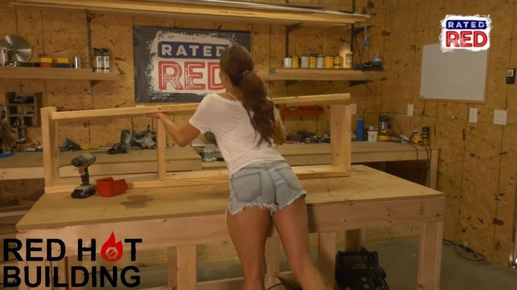 On this weeks episode of Red Hot Building Amanda Mertz shows you how to build an entryway bench Its pretty awesome  tools for beginners tools for beginners tools for sale...