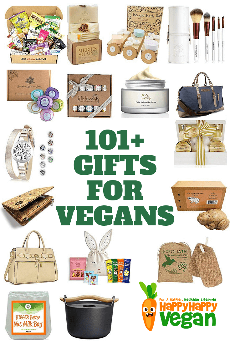 Gifts For Vegans 101 Plant Based Presents To Ponder In 2020 Happy Happy Vegan Vegan Christmas Gifts Vegan Birthday Gifts Vegan Gifts