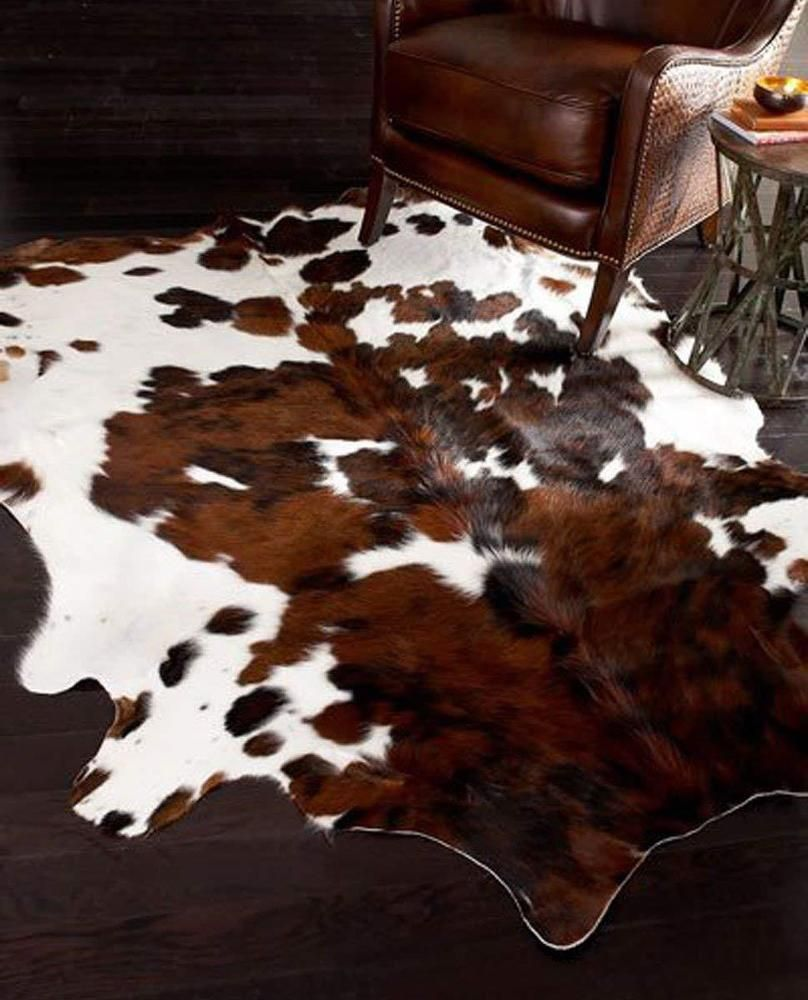 New Cowhide Rug Patchwork Leather Carpet Cowskin Cow Hide