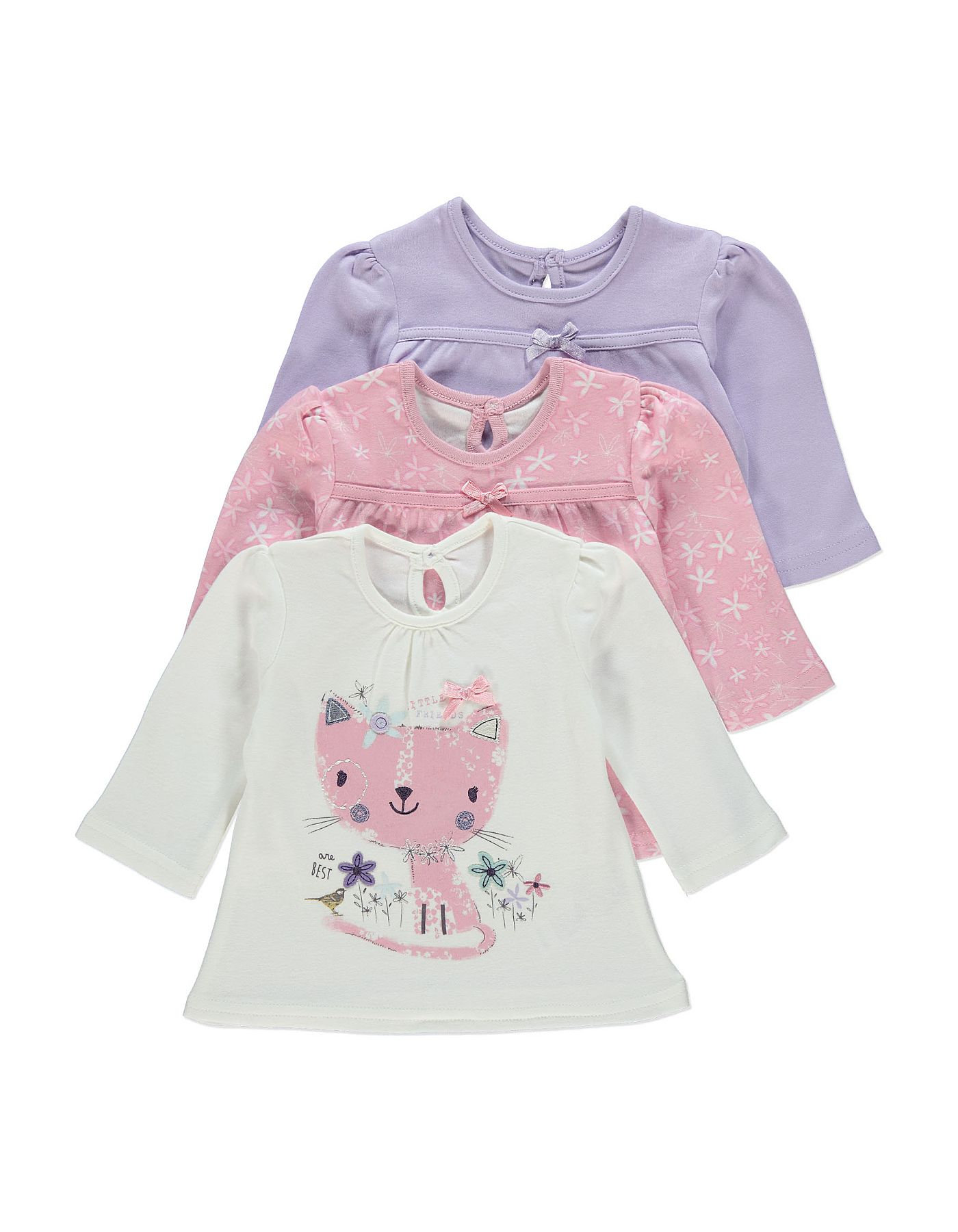 Vitamins Baby Baby-Girls Hugs and Kisses Coverall