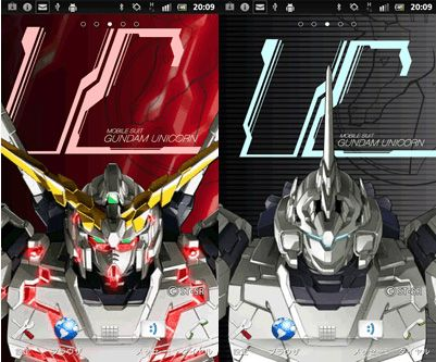GUNDAM GUY: AndroidOS [Gundam Live Wallpaper] - Wallpaper Images