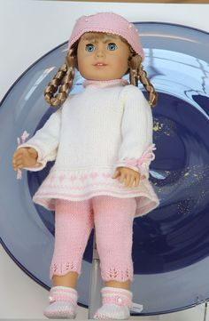 Knitted doll clothes | knit doll clothes