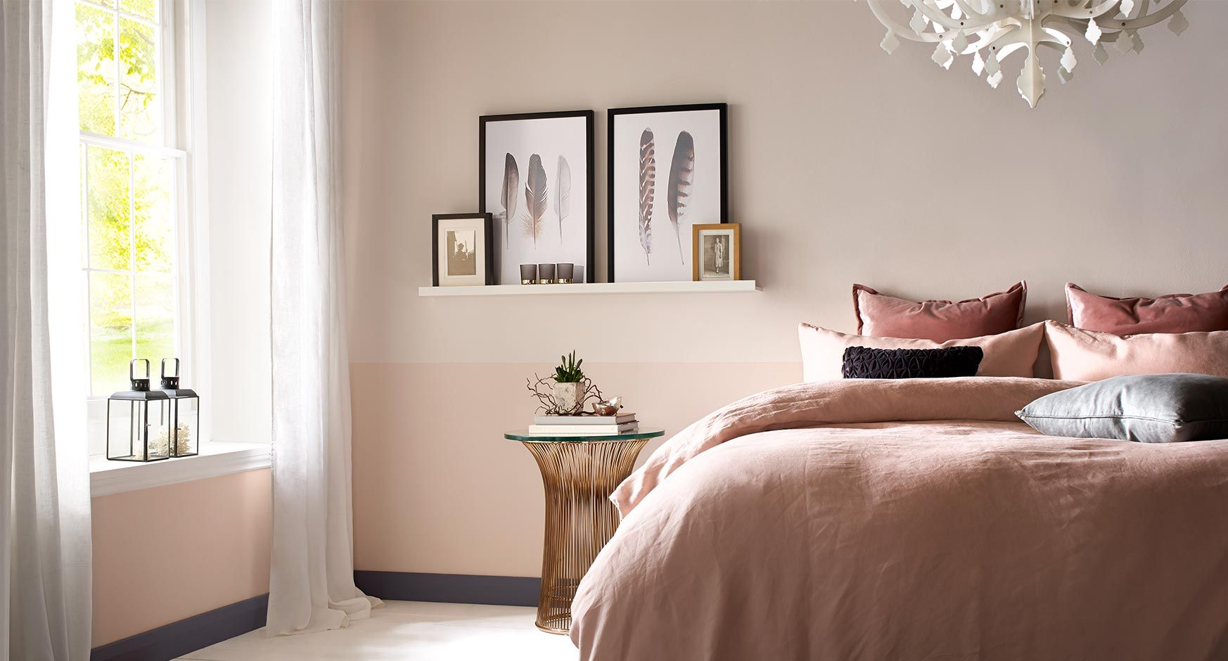 Best Blush Tones Bedroom Wallpaper Luxury Colorful Interior 400 x 300