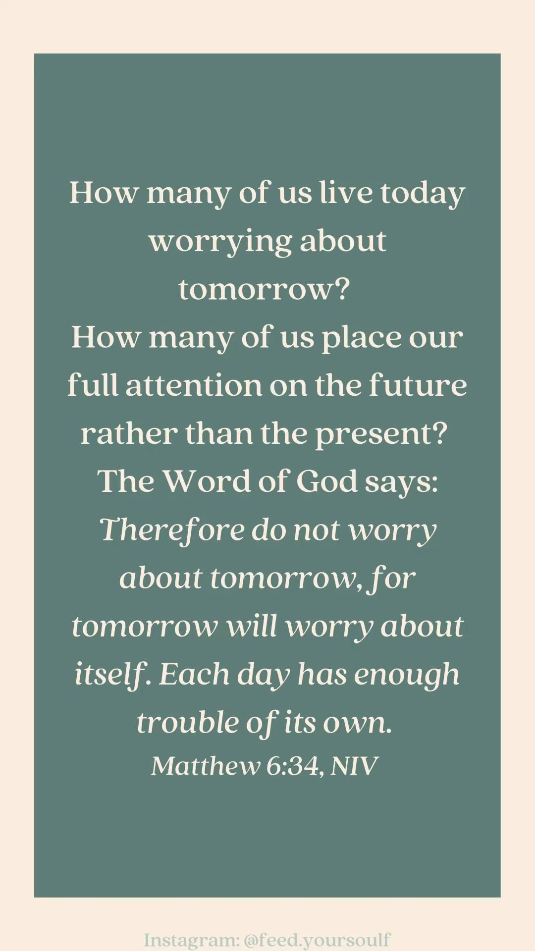 God has a plan, do not be anxious. Bible Scripture Quotes | Bible Quotes | Faith Quotes | Christian