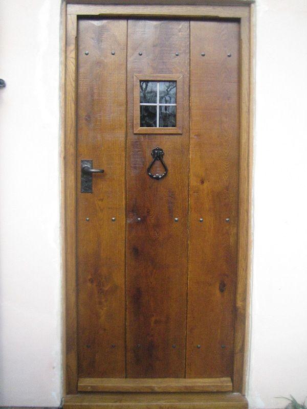 Light oak antique solid oak door - 5. Light Oak Antique Solid Oak Door