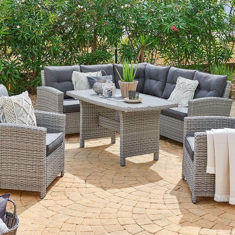 Gartenmobel Garten Polyrattan Loungemobel Lounge In 2021 Rattan Mobel Garten Gartenmobel Outdoor Lounge Mobel