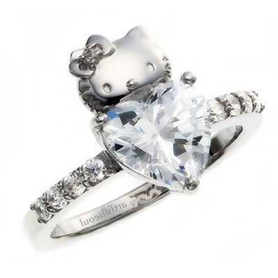 High Quality Hello Kitty Wedding Ring Design Ideas | Http://bestideasnet.com/hello