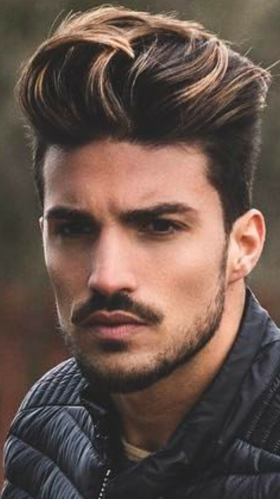 Pin By Bree Bree 89 On Hairstyles Men Hair Highlights Thin Hair Men Men Hair Color