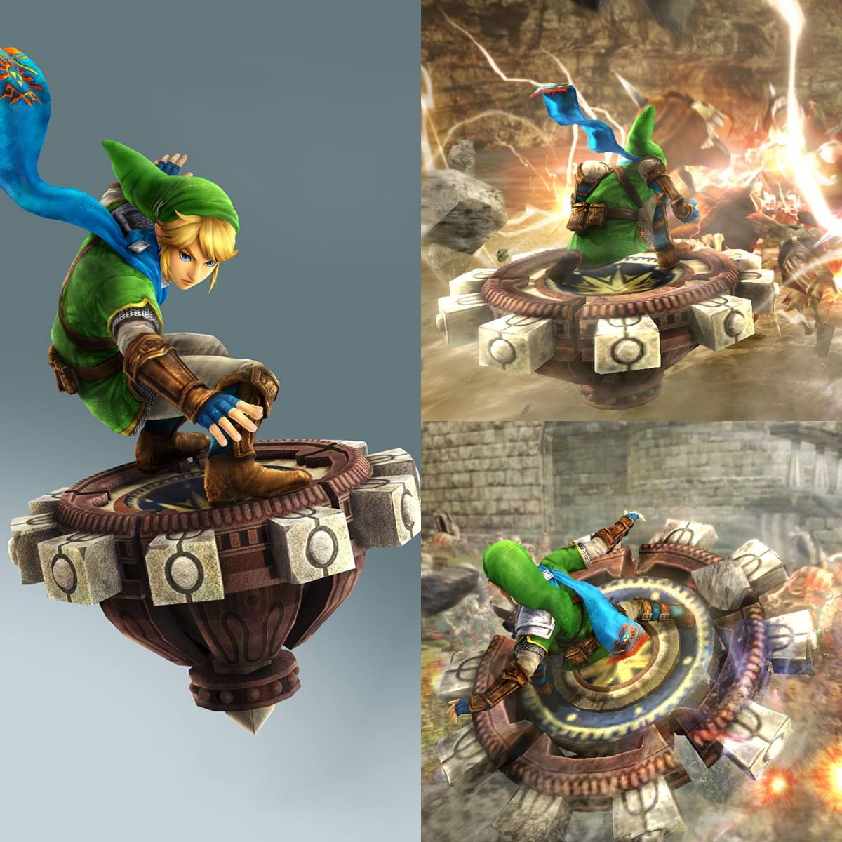 Link Will Get A New Weapon In Hyrulewarriors The Spinner From Twilight Princess Get It For Free When Using Link S Amiibo Legend Of Zelda Hyrule Warri