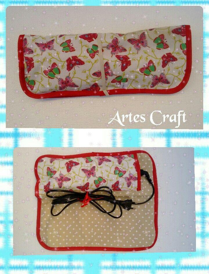 Porta Prancha de cabelo  By Artes Craft
