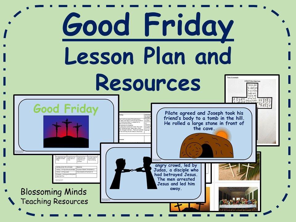 Good Friday Lesson Plan (Easter) KS2 Lent and Easter
