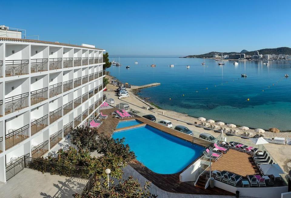 The Best Cheap Hotels Near The San Antonio Sunset Strip In Ibiza Ibiza Holidays Ibiza All Inclusive Ibiza Beach