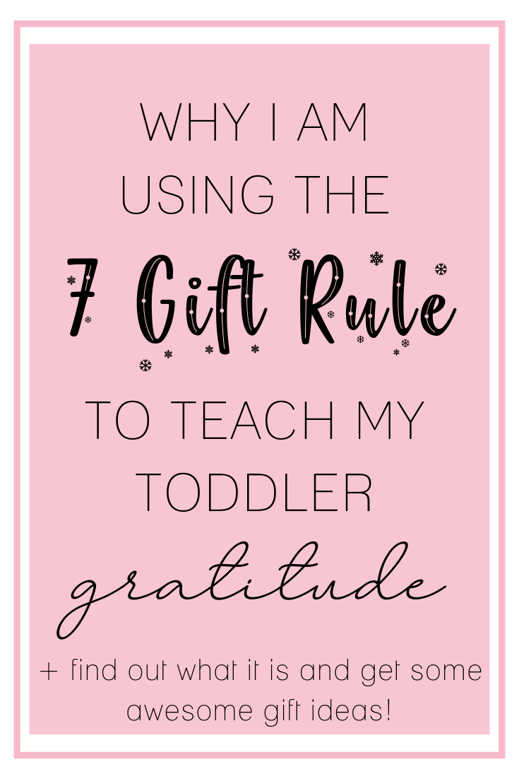 The 7 Gift Rule What is it and how do you do it (With
