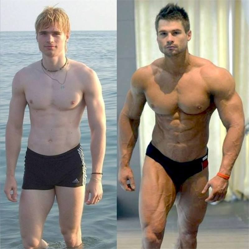 man transformation review