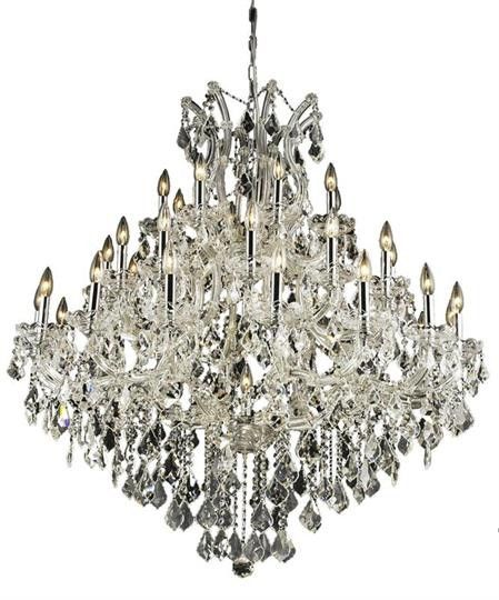 Karla Large Hanging Fixture 37 Light Traditional Grand