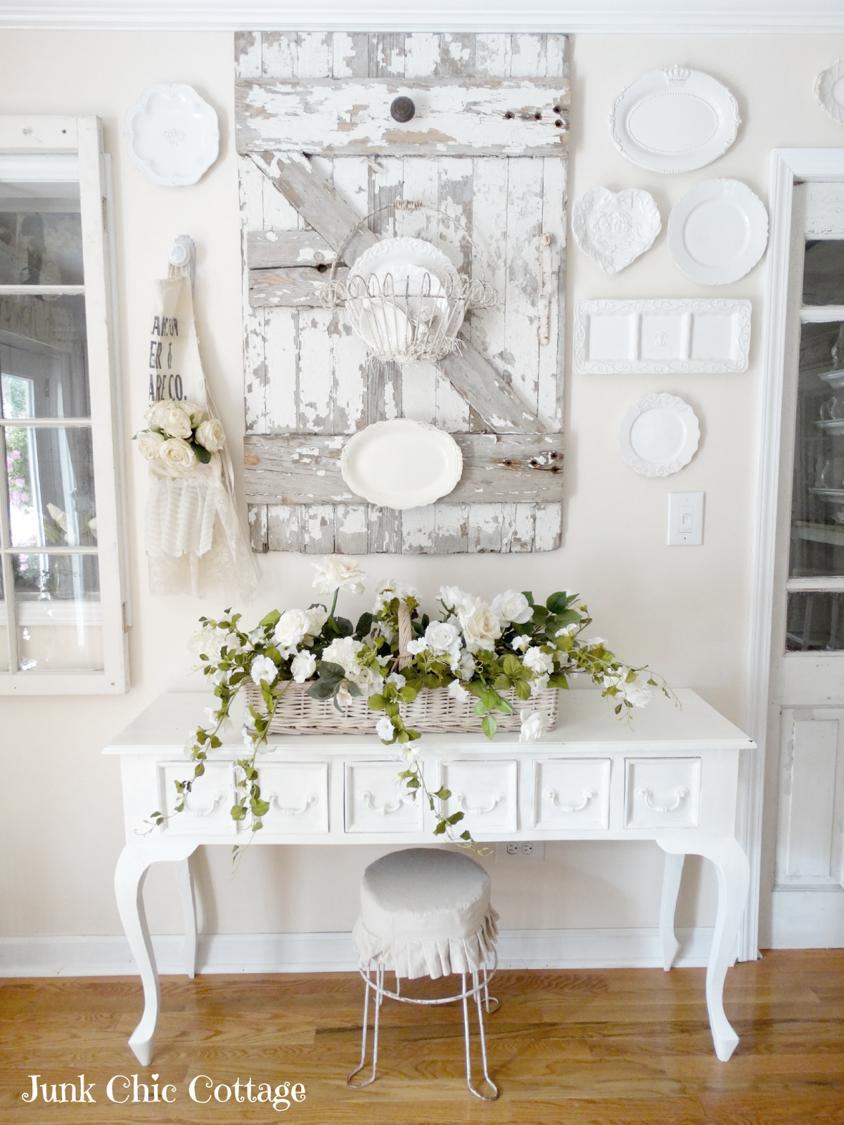 cottage dining rooms. Junk Chic Cottage: Dining Room Reveal Cottage Rooms