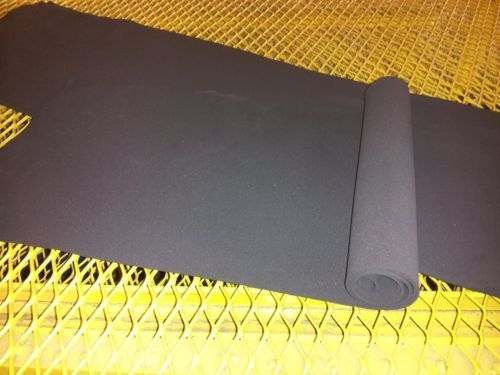 Black Foam Rubber Sheets 5 Pack 2 Mm Thick 12 X 48 Durafoam Multi Purpose Neoprene Rubber Plastic Sheets Rubber