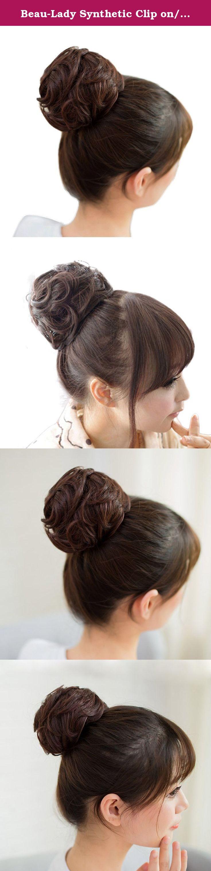 Beau Lady Synthetic Clip Onin Messy Hair Bun Extension Chignon Hair