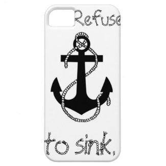 Anchor Quote Iphone 5 Covers