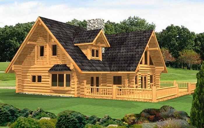 House · Luxury Custom Log ...
