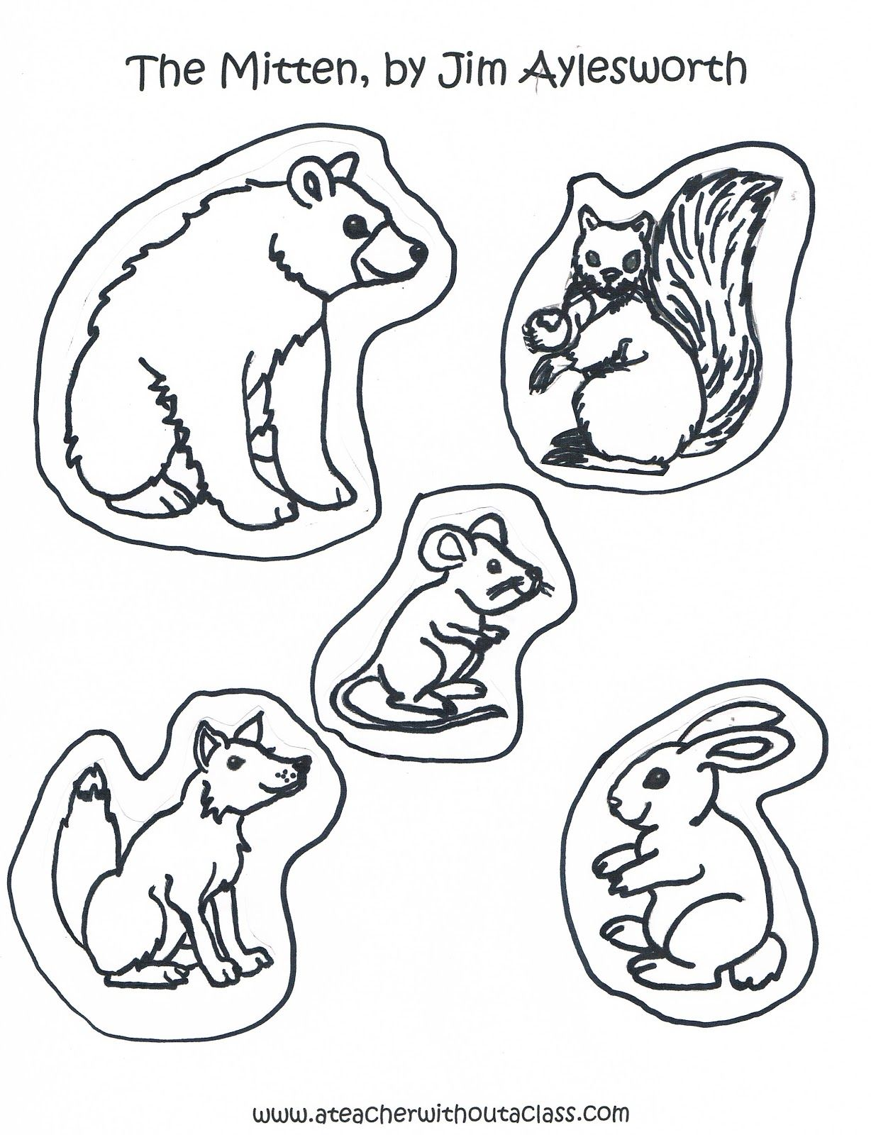 I Searched All Over The Internet For Animals For Each Version Of The Mitten Tresselt S And Brett Animals That Hibernate The Mitten Animals Mitten Activities