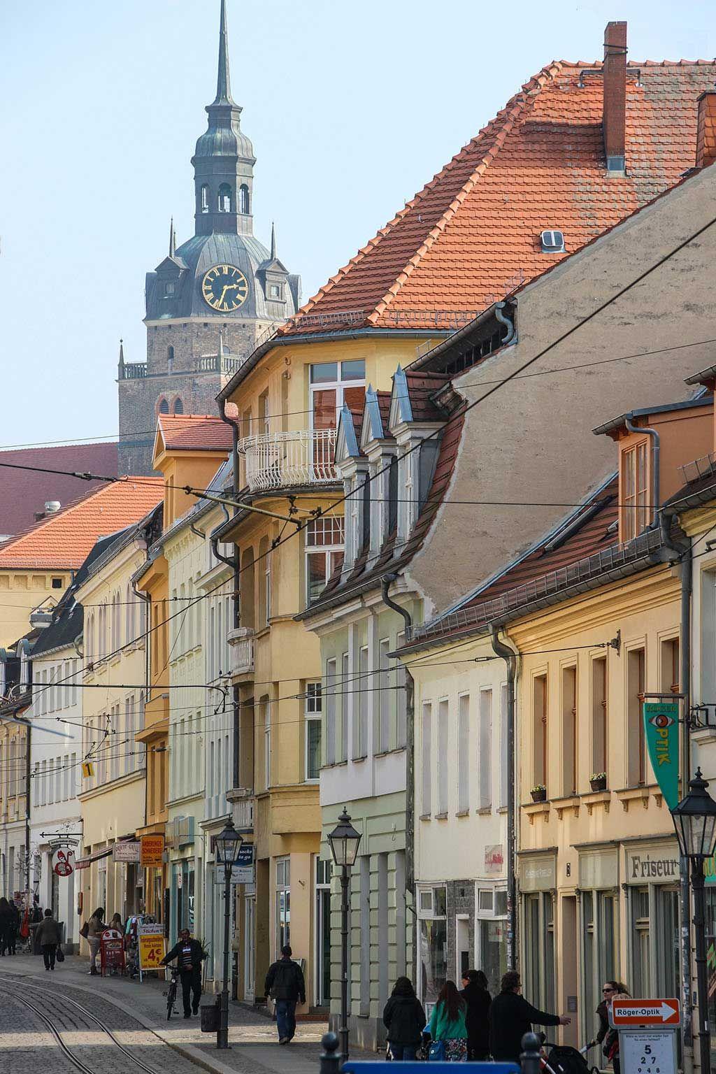 Die Hauptstrasse Von Brandenburg An Der Havel Brandenburg Reisen Deutschland