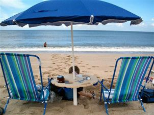 Awesome Beach Table