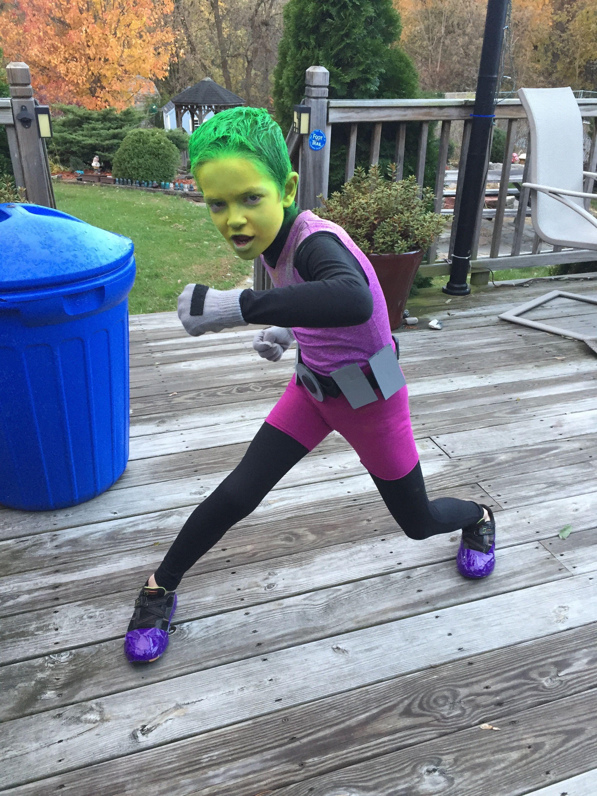 beast boy costume | teen titans cosplay in 2018 | pinterest | boy