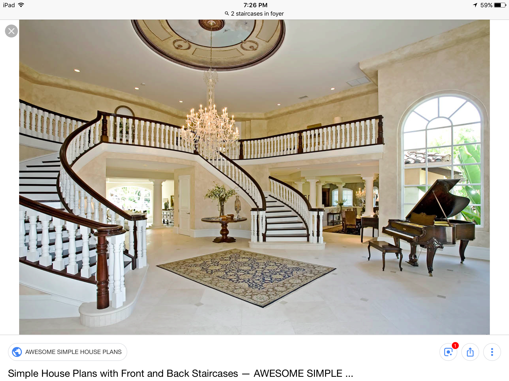Pin By Mike Henrikson On House Plans Simple House Plans Luxury Staircase House Plans