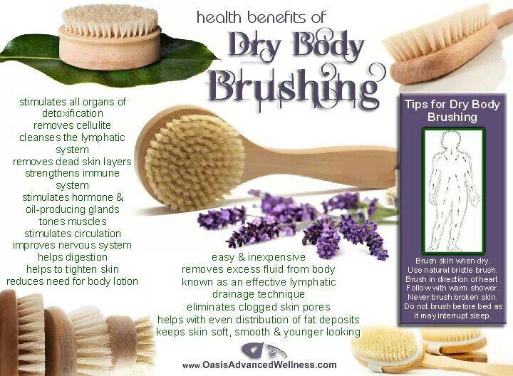 Dry Body Brushing
