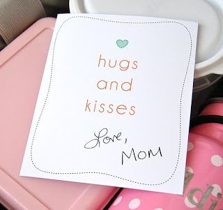 Leave love notes to your kids - Author Unknown - Christian Stories