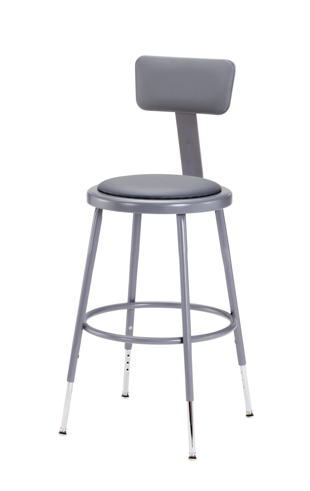 Height Adjustable Stool with Adjustable Backrest  sc 1 st  Pinterest & Height Adjustable Stool with Adjustable Backrest | Office ... islam-shia.org