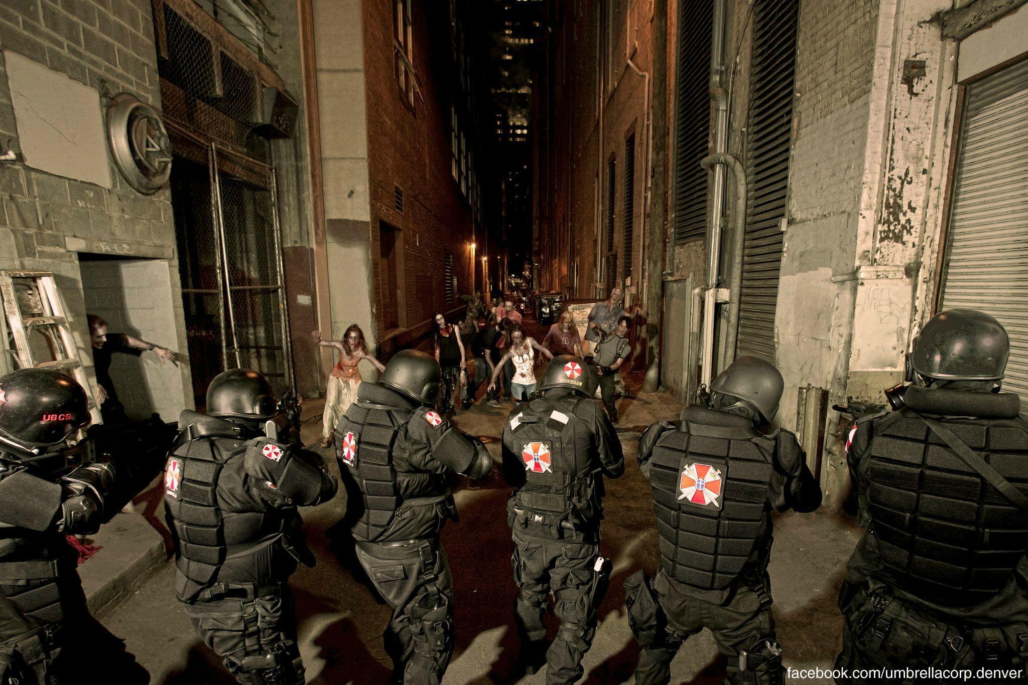 Umbrella Corp Resident Evil Cosplay Umbrella Corporation Umbrella