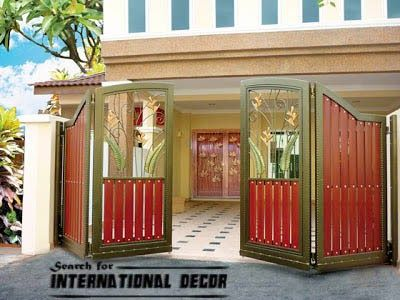 Gate designs, Gate designs for private house and garage, modern ...