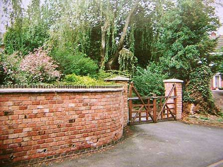 Brick Garden Wall Brick Laminate Picture Brick Garden Walls 2499