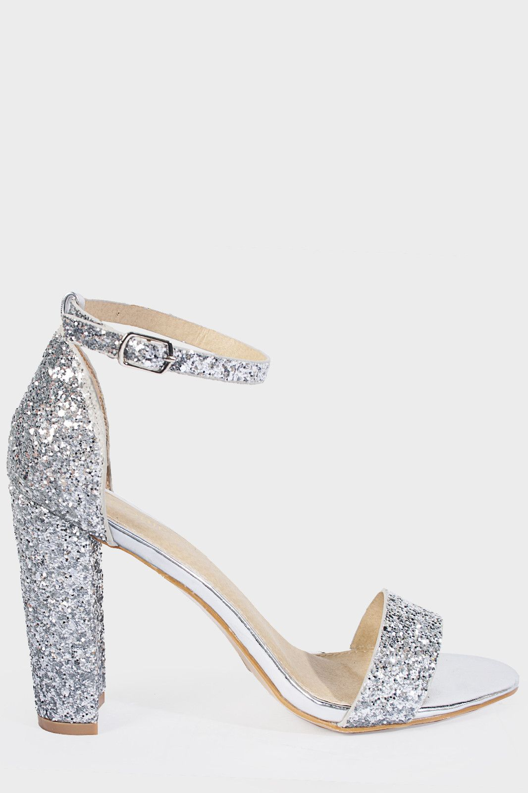 Prom Heels Silver