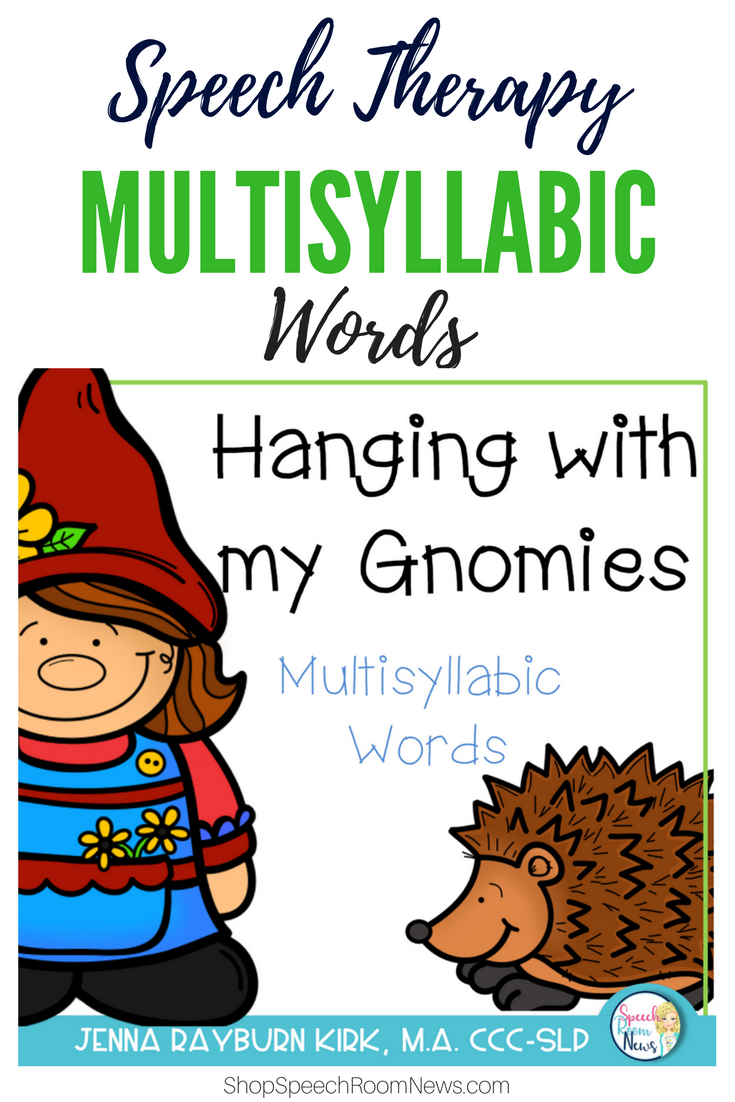 Hanging with my Gnomies Multisyllabic Words Games