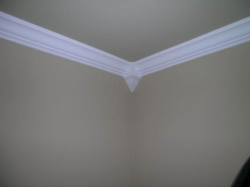 Crown Molding Corner Blocks | If you painted your walls ...